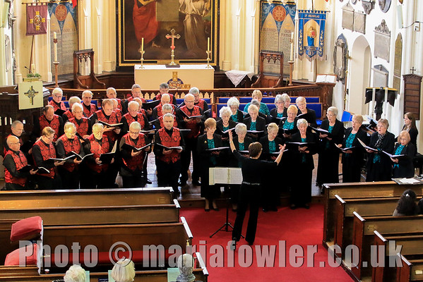 Sun 26 Apr 2015 Tendring Male Voice Choir and the Grange Co-operative Singers at St. Nicholas' Church, Harwich. Further info contact Anna Rendell-Knights 01255 503571  email anna@rendell-knights.freeserve.co.uk Photo Copyright © Maria Fowler 2015Colchester Cancer Centre Campaign