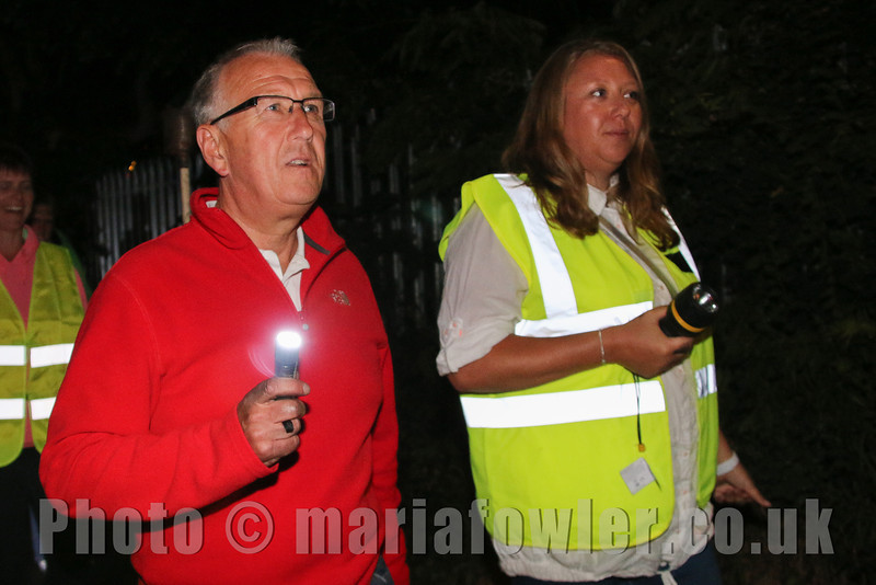 'Save Our Lights' Protest March against Essex County Council's 'Part night' street  lighting.