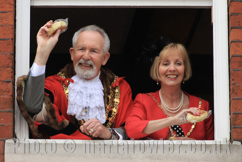 The Mayor and Mayoress of Harwich 2013-14, Cllr. Dave McLeod and Cllr. Dee King.Harwich Town Council Mayor Making 2013
