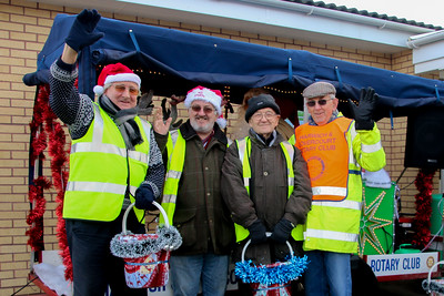 Rotary Club of Harwich and Dovercourt, Rudolph and Santa Christmas Collections 2014 at ASDA Supermarket, Dovercourt.www.facebook.com/RudolphSantaHarwichRotary