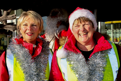 Rotary Club of Harwich and Dovercourt, Rudolph and Santa Christmas Collections 2014 at Morrisons, Dovercourt.www.facebook.com/RudolphSantaHarwichRotary